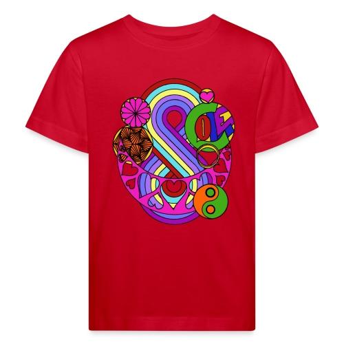 Colour Love Mandala - Kids' Organic T-Shirt