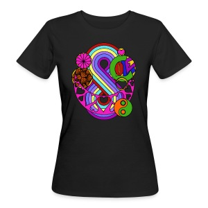 Colour Love Mandala - Women's Organic T-shirt