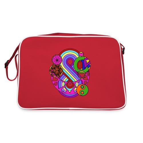 Colour Love Mandala - Retro Bag