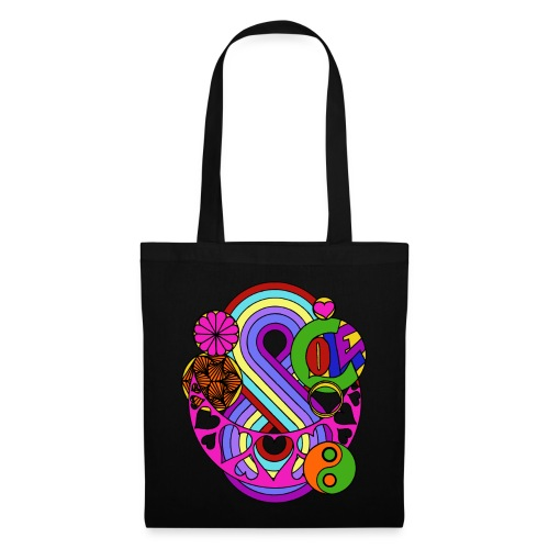 Colour Love Mandala - Tote Bag