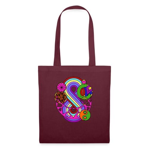 Colour Love Mandala - Tote Bag