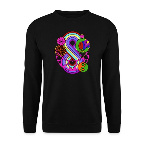 Colour Love Mandala - Men's Sweatshirt
