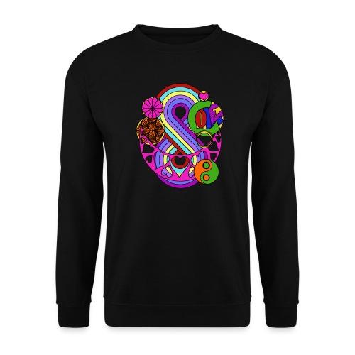 Colour Love Mandala - Men's Sweatshirt