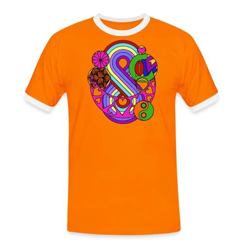Colour Love Mandala - Men's Ringer Shirt