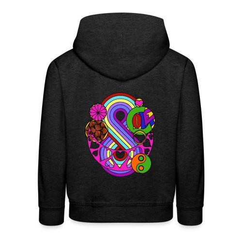 Colour Love Mandala - Kids' Premium Hoodie
