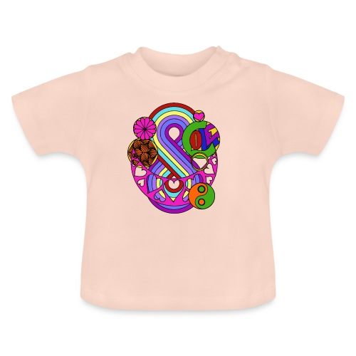 Colour Love Mandala - Baby T-Shirt