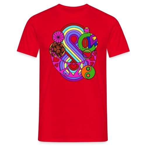 Colour Love Mandala - Men's T-Shirt