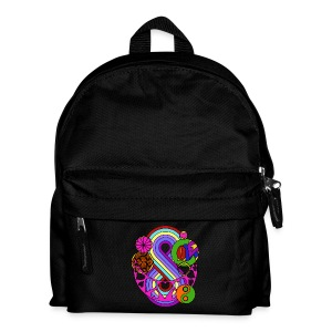 Colour Love Mandala - Kids' Backpack