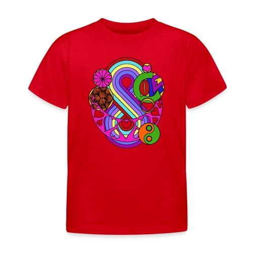 Colour Love Mandala - Kids' T-Shirt