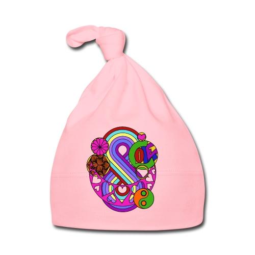 Colour Love Mandala - Baby Cap