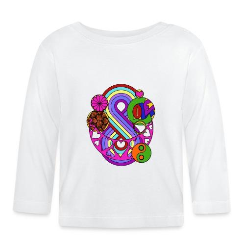 Colour Love Mandala - Baby Long Sleeve T-Shirt