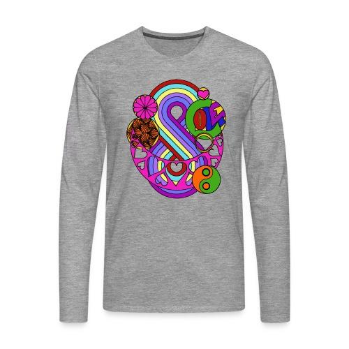 Colour Love Mandala - Men's Premium Longsleeve Shirt