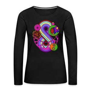 Colour Love Mandala - Women's Premium Longsleeve Shirt