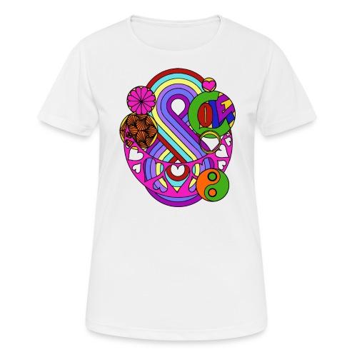 Colour Love Mandala - Women's Breathable T-Shirt