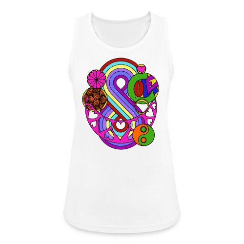 Colour Love Mandala - Women's Breathable Tank Top