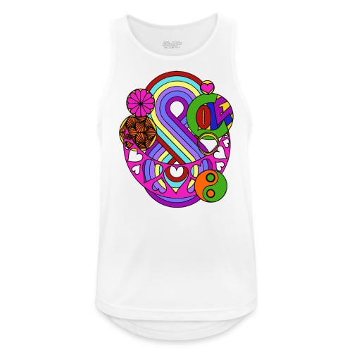 Colour Love Mandala - Men's Breathable Tank Top