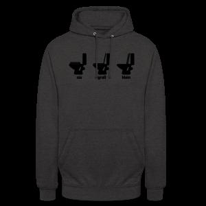Toilettenregeln Shirt - Unisex Hoodie