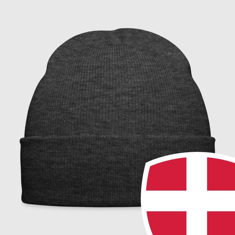 Asfaltfarvet  Denmark Emblem Big 2 (3c, NEU) Kasketter & Huer - Winterhue