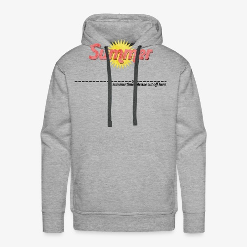 in summertime cut of here - Männer Premium Hoodie
