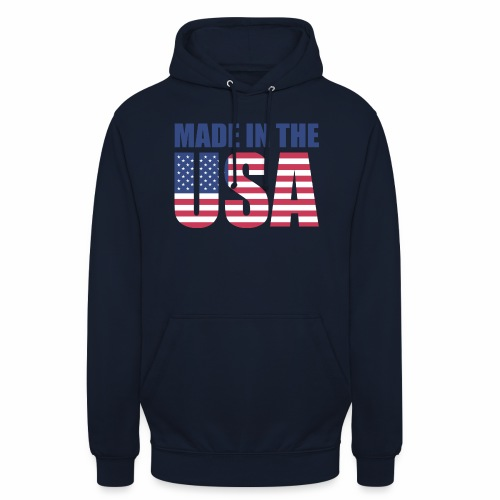 Made in the USA - Unisex Hoodie