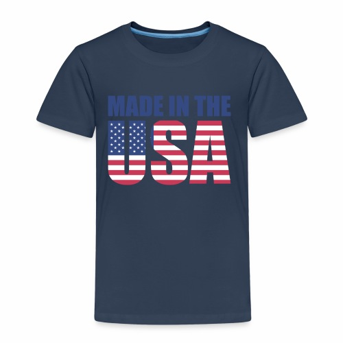 Made in the USA - Kinder Premium T-Shirt