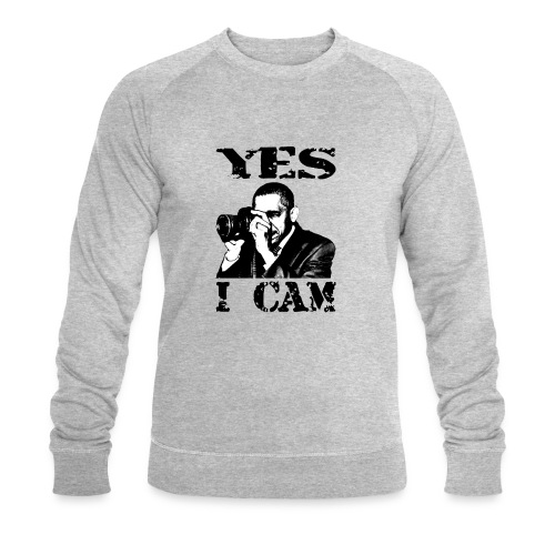 Yes I Cam, like Obama - Mannen bio sweatshirt van Stanley & Stella
