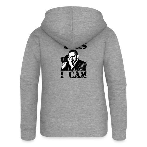 Yes I Cam, like Obama - Vrouwenjack met capuchon Premium