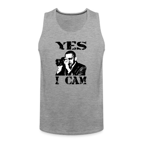 Yes I Cam, like Obama - Mannen Premium tank top