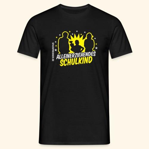 Alleinerziehendes Schulkind, Junge T-Shirts - Männer T-Shirt