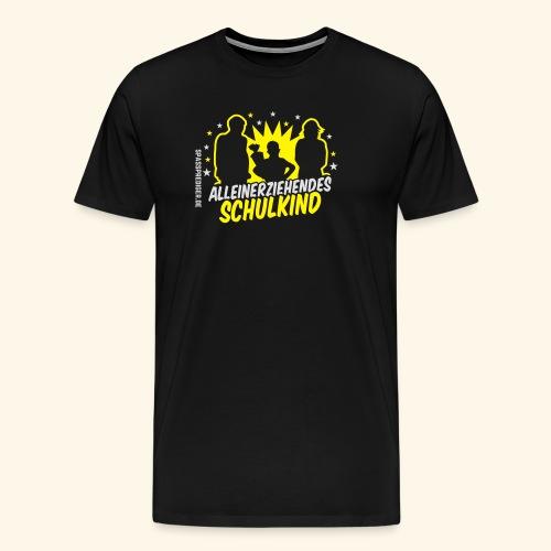 Alleinerziehendes Schulkind, Junge T-Shirts - Männer Premium T-Shirt