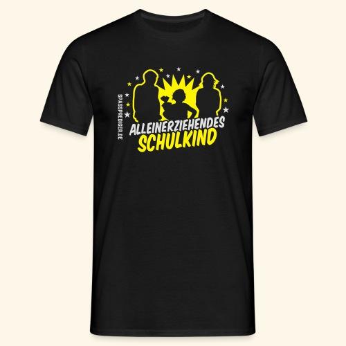 Alleinerziehendes Schulkind, Mädchen T-Shirts - Männer T-Shirt