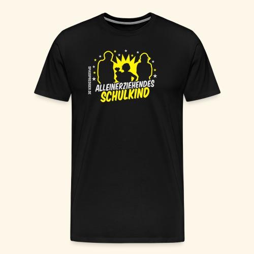 Alleinerziehendes Schulkind, Mädchen T-Shirts - Männer Premium T-Shirt