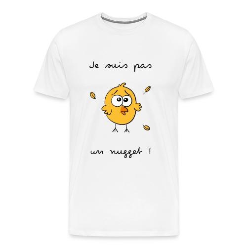 Je suis pas un nugget - T-shirt Premium Homme