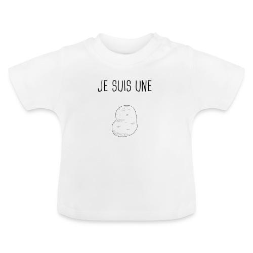 Je suis une patate - T-shirt Bébé