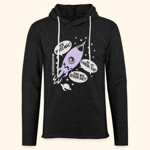 Kleiner Astronaut - Leichtes Kapuzensweatshirt Unisex