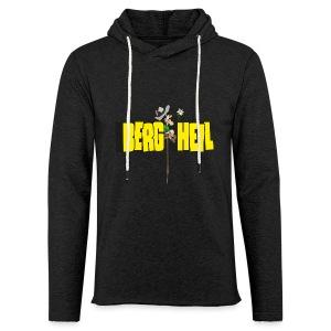 Berg Heil - Leichtes Kapuzensweatshirt Unisex