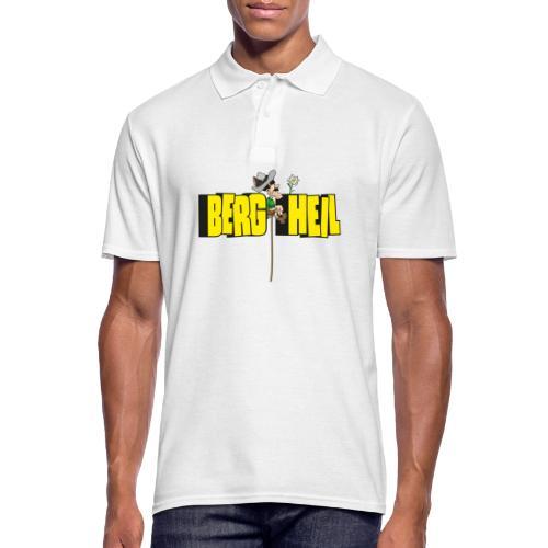 Berg Heil - Männer Poloshirt