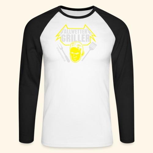 Allwettergriller - Männer Baseballshirt langarm