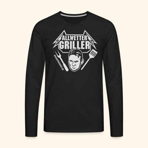 Allwettergriller - Männer Premium Langarmshirt