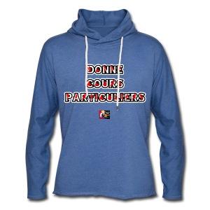 DONNE COURS PARTICULIERS - JEUX DE MOTS - FRANCOIS VILLE - Sweat-shirt à capuche léger unisexe