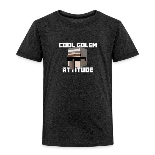 Cool Golem attitude Hoodie - T-shirt Premium Enfant