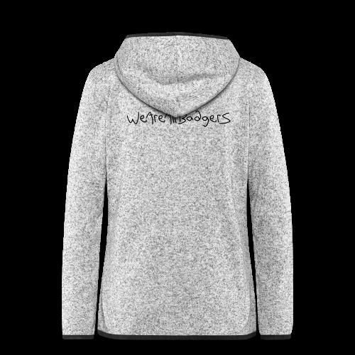 We Are All Badgers - Women's Hooded Fleece Jacket