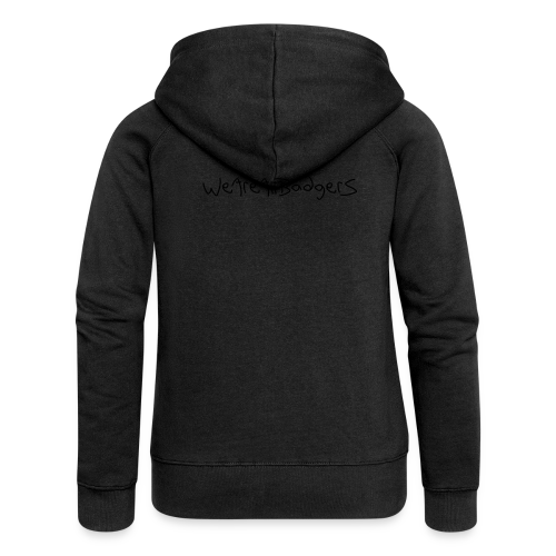 We Are All Badgers - Women's Premium Hooded Jacket