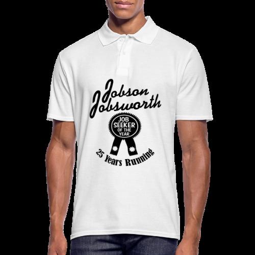 Jobson Jobsworth - Jobseeker of the Year - 25 Years Running - Men's Polo Shirt
