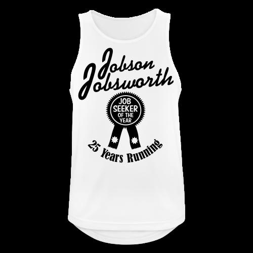 Jobson Jobsworth - Jobseeker of the Year - 25 Years Running - Men's Breathable Tank Top