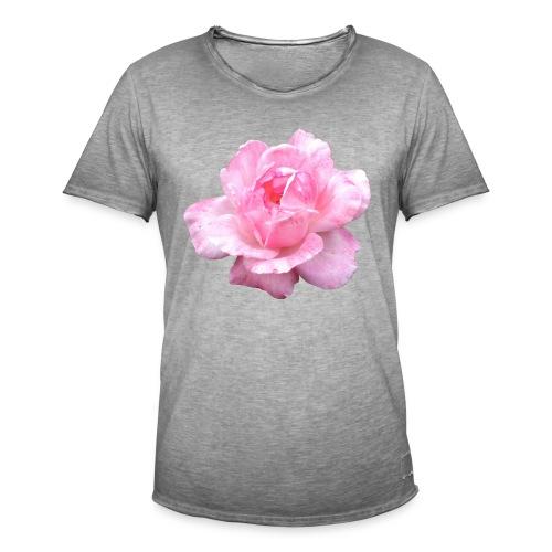 Rose-7 - Männer Vintage T-Shirt