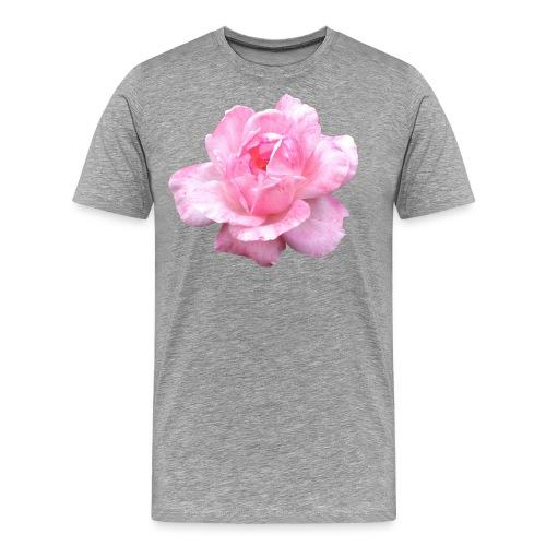 Rose-7 - Männer Premium T-Shirt