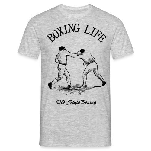Old Style Boxing Life - Maglietta da uomo