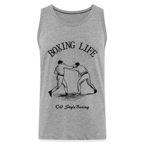 Old Style Boxing Life - Canotta premium da uomo