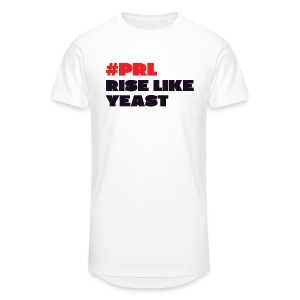 #PRL - Rise Like Yeast - Men's Long Body Urban Tee